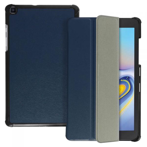 Avizar Capa Livro Samsung Galaxy Tab a 8.0 2019 Função Suporte Azul Escuro FOLIO-TRIF-NT-T290