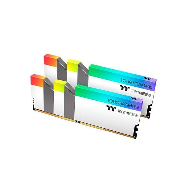 Memória RAM Thermaltake 16GB Toughram RGB (2x8GB) 3600MHz PC4-28800 CL18 White