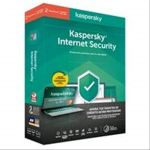 Kaspersky Antivirus Internet Security 2020 2 Dispositivos 1 Ano No CD - KL1939S5BFS-20CAHO