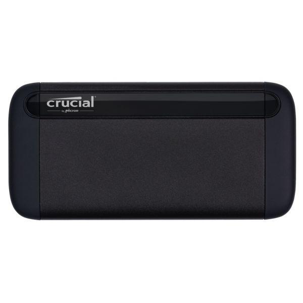 Disco Externo SSD Crucial 500GB SSD Externo X8 USB 3.1 Black - CT500X8SSD9
