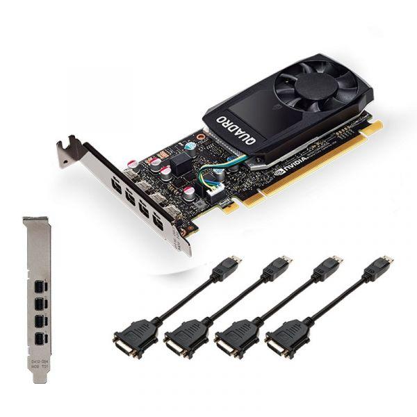 PNY nVIDIA QUADRO P1000 V2 4GB GDDR5 - VCQP1000V2-PB