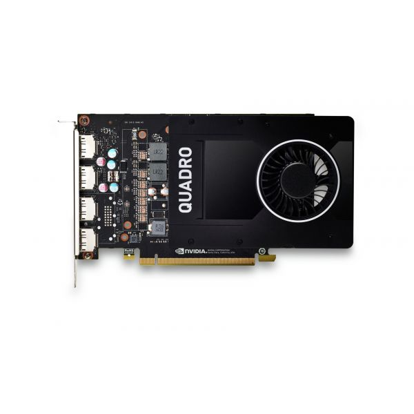 HP NVIDIA Quadro P2200 5GB (4)DP GFX - 6YT67AA