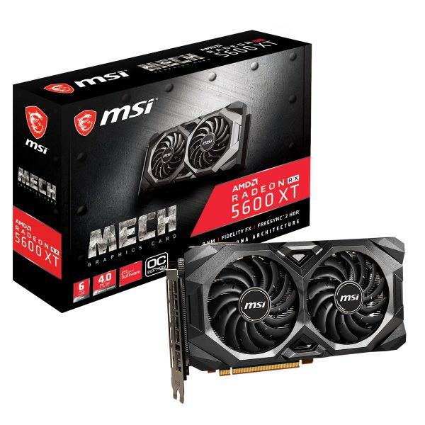 MSI Radeon RX 5600 XT Mech 6G OC GDDR6 - 912-V381-227
