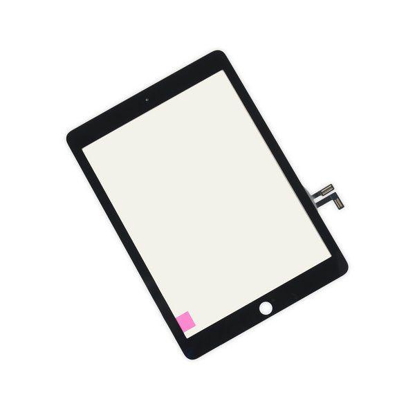 Vidro Touch preto para iPad 5 2017 A1822 A1823 9.7