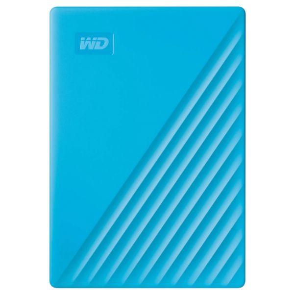 Disco Externo Western Digital 4TB My Passport 2.5 USB 3.2 Gen 1 Blue - WDBPKJ0040BBL-WESN