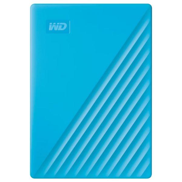 Disco Externo Western Digital 2TB My Passport 2.5 USB 3.0 Blue - WDBYVG0020BBL-WESN