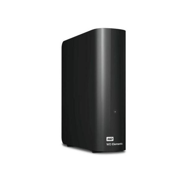 Disco Externo Western Digital 12TB Elements Desktop USB 3.0 Black - WDBWLG0120HBK-EESN