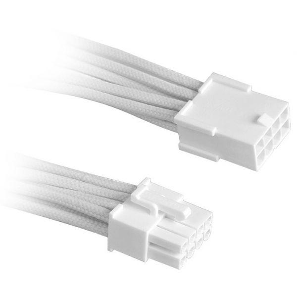 Bitfenix 8-pin Cpu Extensão 45cm Sleeved White