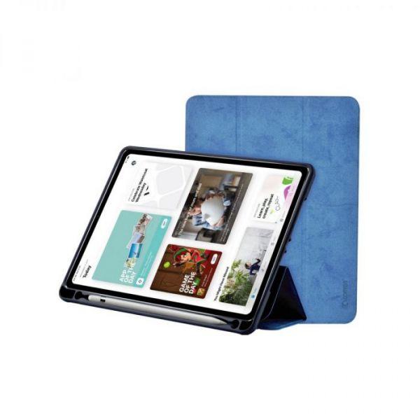 Capa de Pele com Slot para Caneta iPad Pro 11P Vermelha