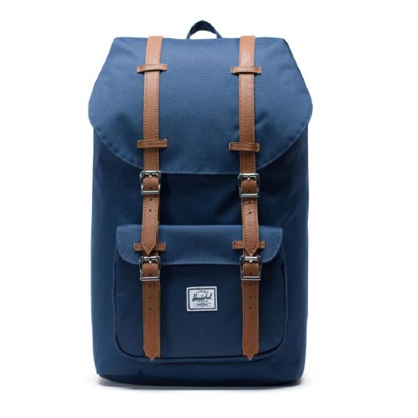 Herschel Supply Co. Little America Navy/tan Synthetic Leather