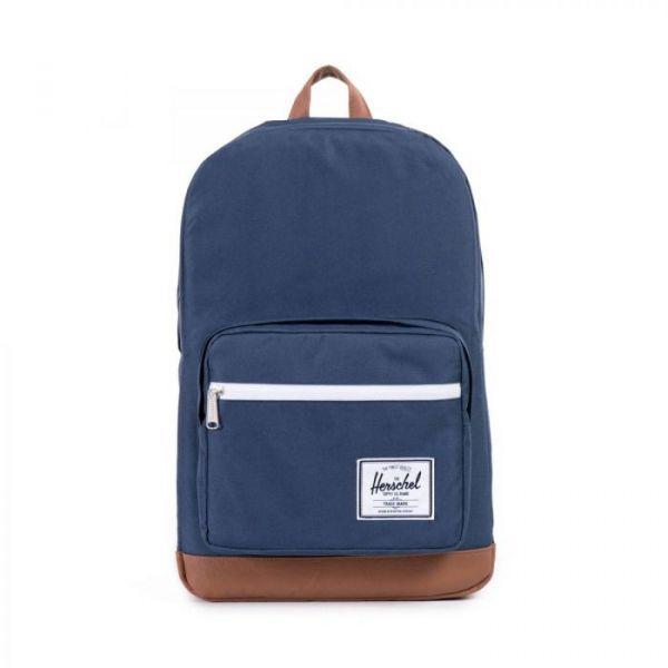 Herschel Supply Co. Pop Quiz Navy/tan Synthetic Leather