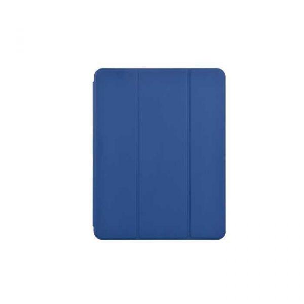 Capa em Pele com Slot para Apple Pencil iPad Mini 5 (azul)