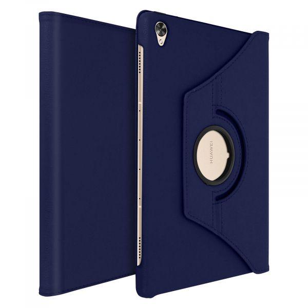Avizar Capa Livro Huawei Mediapad M6 10.8 Giratória 360º F. Suporte Azul Escuro - FOLIO-360-NT-MEDM6