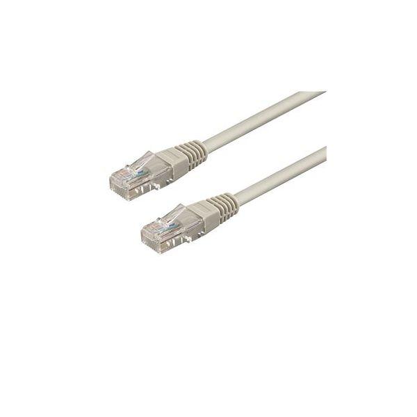 Wp Rack Cat 6 U-utp Patch Cable Lenght 3 M, Awg 26/7, Cu, Color Grey - WPC-PAT-6U030