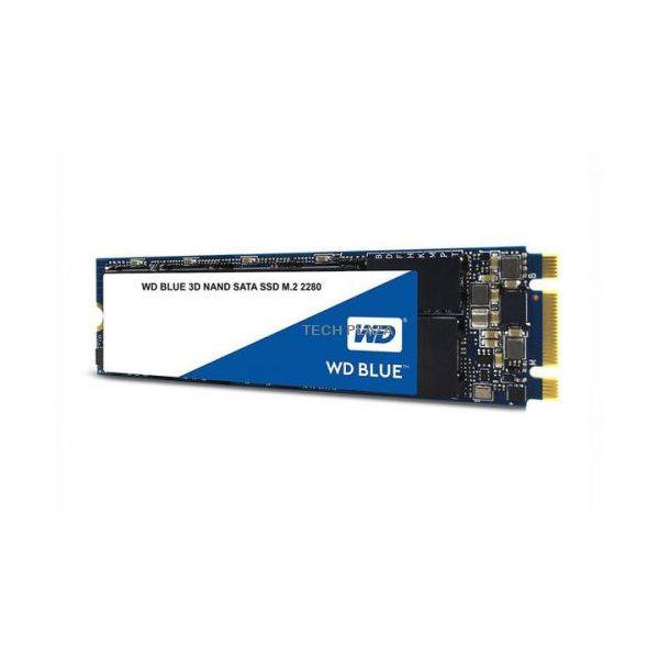 Western Digital 500GB Blue M.2 3D NAND SATA SSD - WDBK3U5000ANC-WRSN