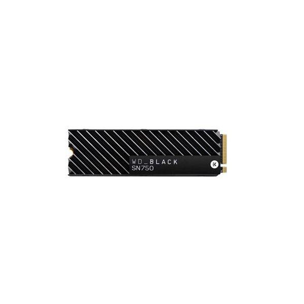 Western Digital 1TB + Heatsink Black - WDBGMP0010BNC-WRSN