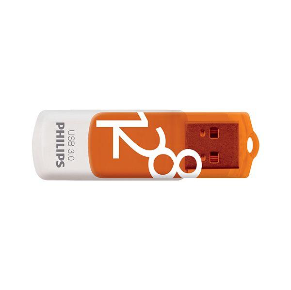 Philips 128GB Pen Vivid Edition Orange USB 3.0