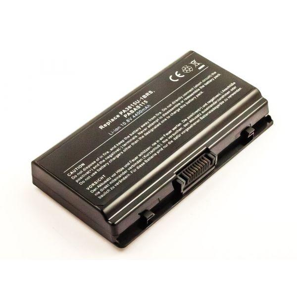 Bateria Compatível PA3615U-1BRM, PA3615U-1BRS, PABAS115 Toshiba (4400mAh) - BCE51498