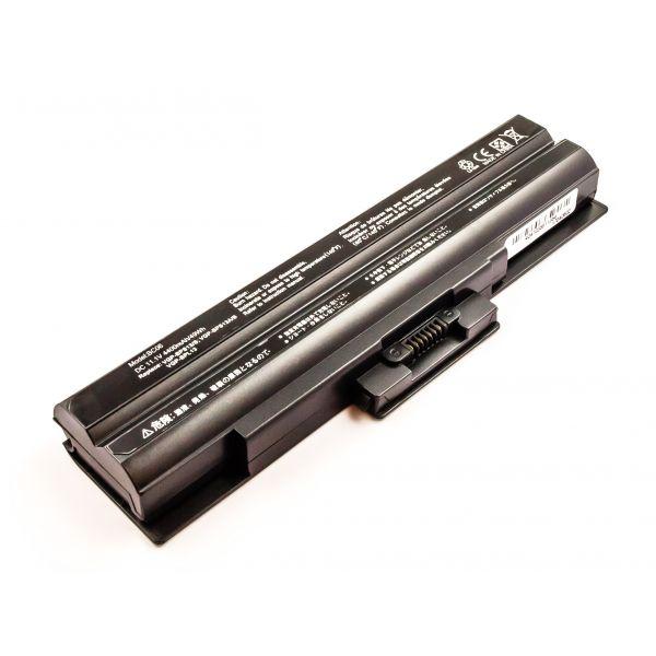 Bateria Compatível VGP-BPS13, VGP-BPS13/B, VGP-BPS13/Q, VGP-BPS13A, Etc Sony (4400mAh) - BCE51136
