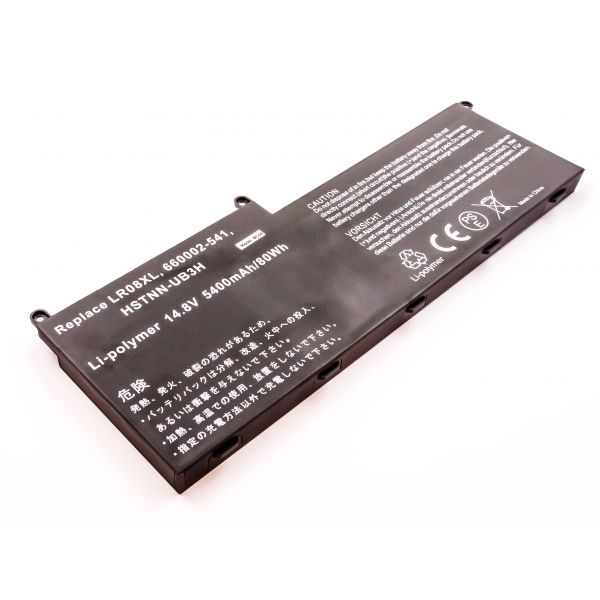 Bateria Compatível 660002-541, 660152-001, HSTNN-DB3H, HSTNN-UB3H, Etc hp (5400mAh) - BCE53858
