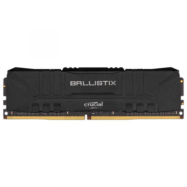 Memória RAM Crucial 8GB Ballistix Sport LT DDR4 2666Mhz PC4-21300 CL16 Red - BL8G26C16U4R