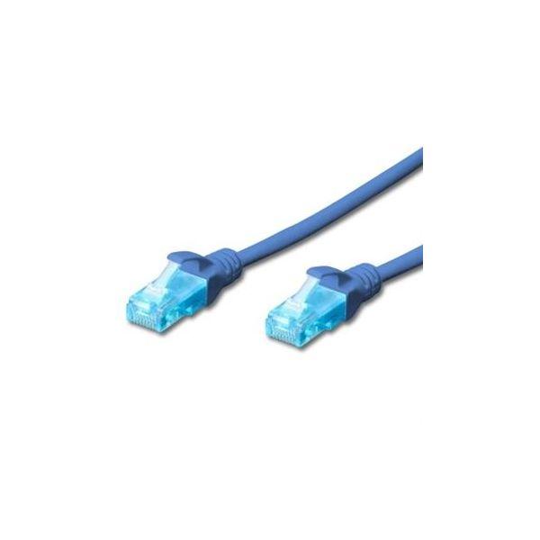 Ewent Cabo de Rede Rj 45 Cat5e U/utp 0.2m (azul) - EW5U002B