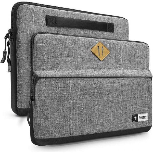 "Tomtoc Sleeve Casual para Macbook Pro 13"" Cinzento"