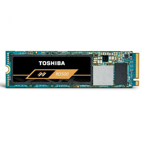 Toshiba 500GB SSD RD500-NVMe PCIe 3.0 M.2 -3400R/2500W-420K/570K IOPs