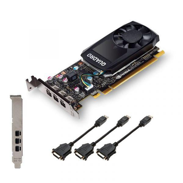 PNY NVidia Quadro P400 V2 LowProfile DVI - VCQP400DVIV2-PB