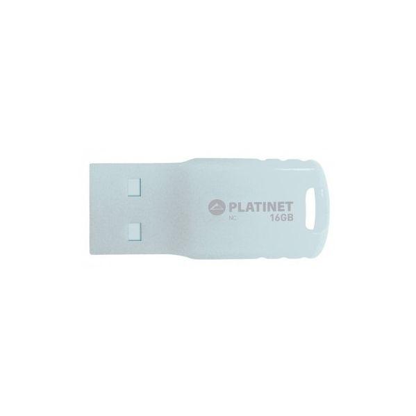 Platinet Pen Drive USB2.0 16GB Waterproof (branco) - PMFF16W