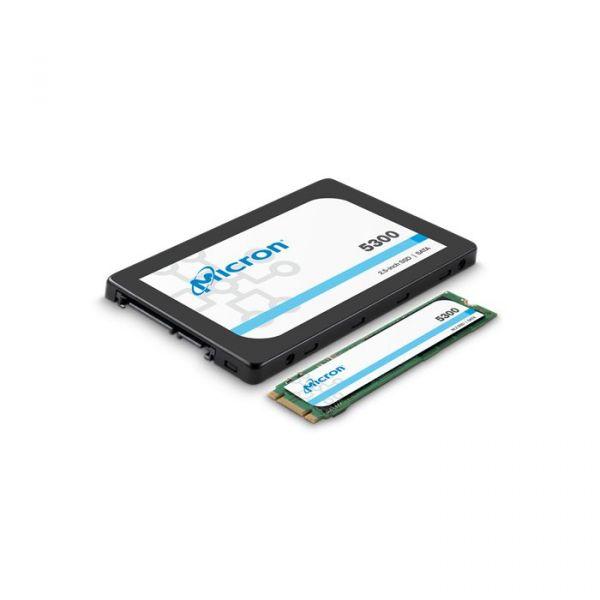 """Micron 7.68TB SSD 5300 PRO 2.5"""" - MTFDDAK7T6TDS-1AW1ZABYY"""