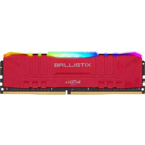 Memória RAM Crucial Ballistix 16GB DDR4 2x8GB 3200 CL16 red RGB - BL2K8G32C16U4RL