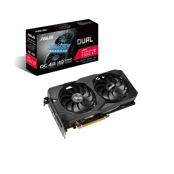Asus Radeon RX 5500 XT Dual 4GB OC EVO GDDR6 - 90YV0DV2-M0NA00