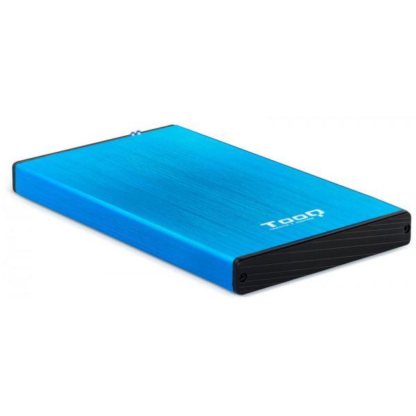 """Tooq TQE-2527 Caixa Externa para Discos 2.5"""" USB 3.0 Blue"""