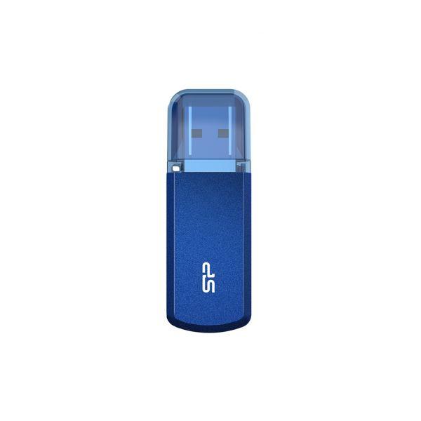 Silicon Power 64GB Helios 202 USB3.2 Gen1 Blue - SP064GBUF3202V1B