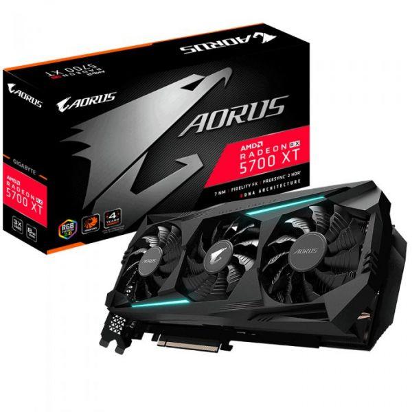 Gigabyte Radeon AORUS RX 5700 XT 8GB - GV-R57XTAORUS-8GD