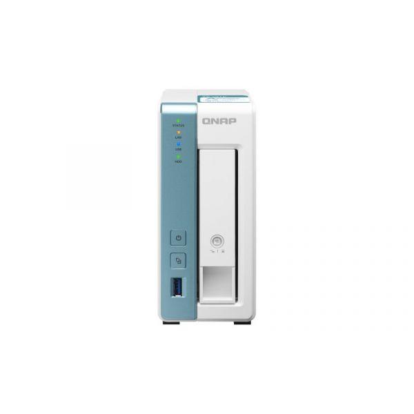QNAP NAS 1 baía Quad-Core 1.7GHz - TS-131K