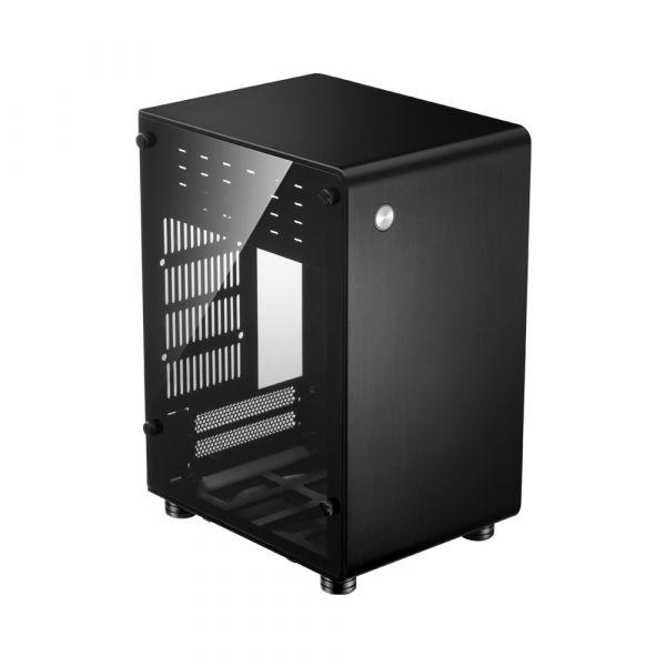 Jonsbo Caixa ITX U1 Plus Preta, Vidro Temperado - U1PLUSBLACK