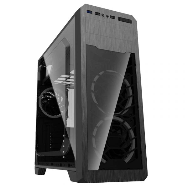 GameMax Caixa Mid Tower ATX G563 2xUSB s/ Fonte - 901344