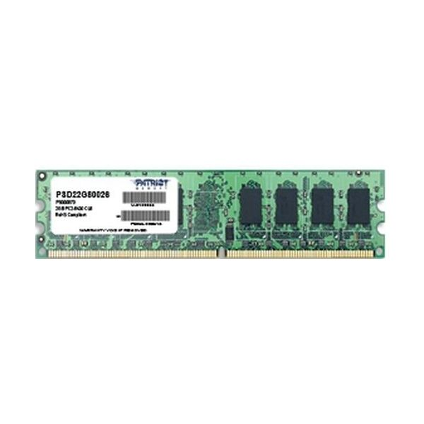 Memória RAM Patriot 2GB DDR2-800 CL6 - PSD22G80026