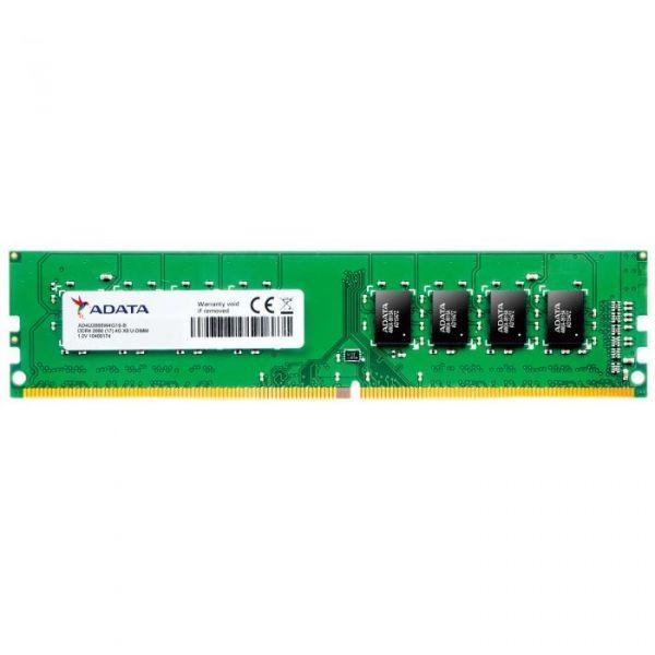 Memória RAM ADATA 4GB DDR4 DIMM 2666 CL19 - AD4U2666W4G19-R