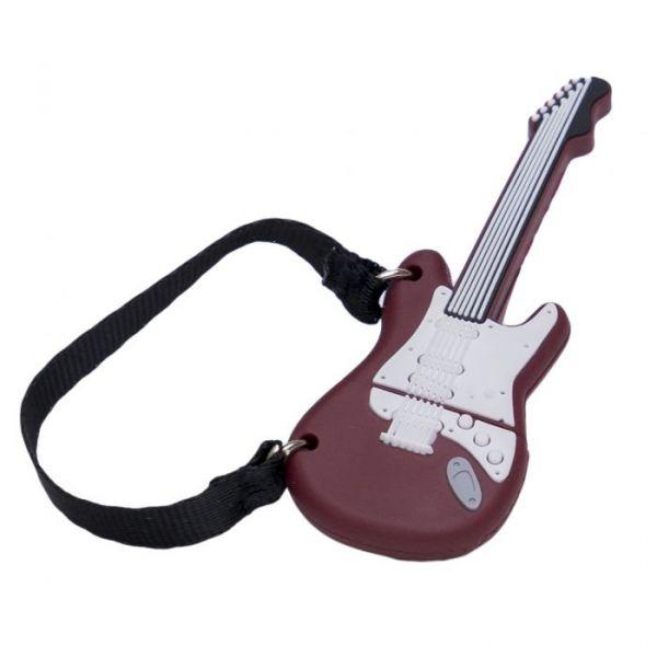 Tech One 16GB Guitarra USB 2.0 Black/White - TEC5138-16