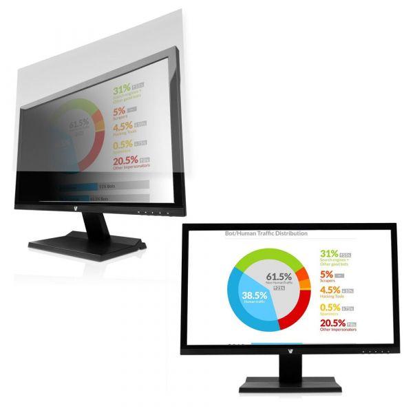 V7 Filtro privacidade 24´´ 16:10 MONITOR SIZE 20.42 X 12.77 - PS24.0WA2-2E