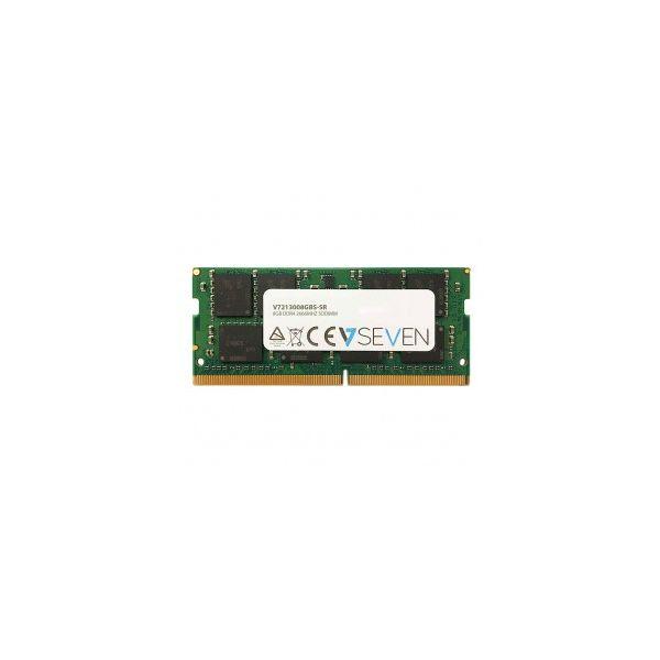 Memória RAM V7 8GB SO-DIMM DDR4 2666 PC4-21300 - V7213008GBS-SR