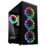 Kolink Caixa ATX Observatory Lite Mesh RGB Vidro Temperado - OBSERVATORY-MESH-L