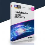 Bit defender Total Security 3 PC's | 1 Ano Chave Digital