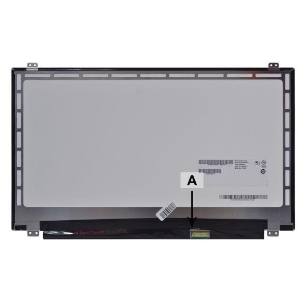 2-Power Laptop LCD panel - 15.6 WXGA 1366x768 HD LED Matte ( ) - SCR0474B