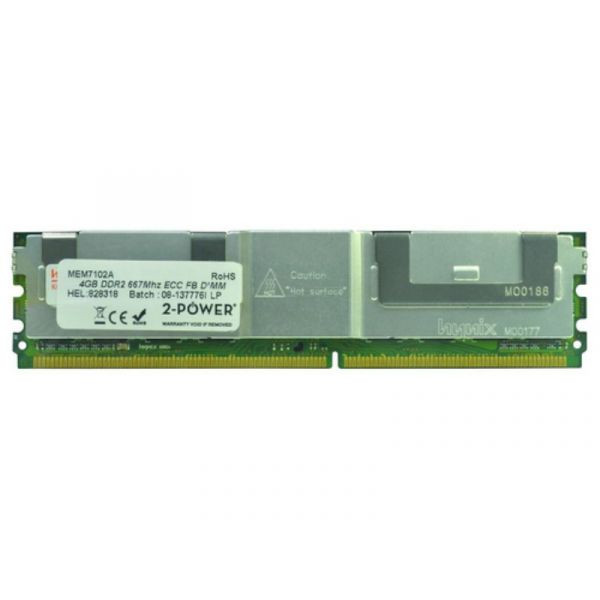Memória RAM 2-Power 4GB DDR2 667MHz FBDIMM - 2PDPC2667FCLO14G