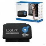 """LogiLink Adaptador USB 3.0 P/ SATA / IDE 2.5""""/3.5""""/5.25"""""""