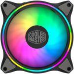 Cooler Master Ventoinha MF120 Halo aRGB 120mm (Preto) - MFL-B2DN-18NPA-R1